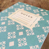 Teal & White Vintage Pattern Journal - Lolly & Boo - 3