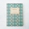 Teal & White Vintage Pattern Journal - Lolly & Boo - 2