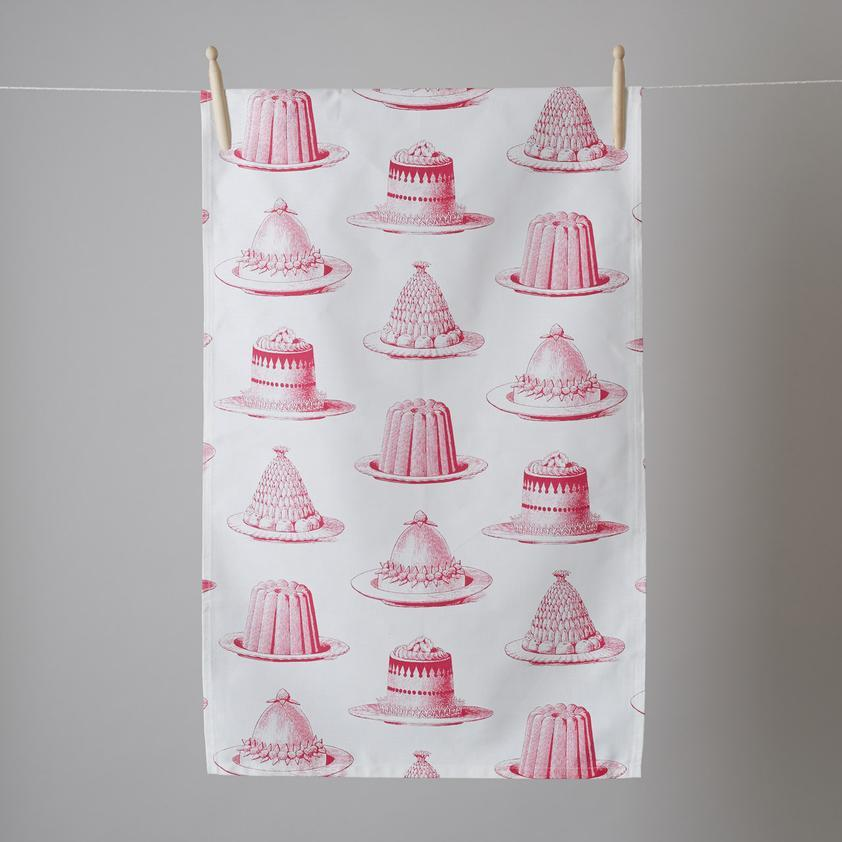 Tea Towel -Jelly and Cake