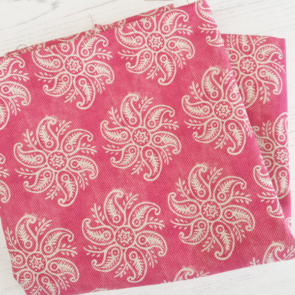 Olive & Daisy Mini Anoushka Linen in Ruby Red - Offcut