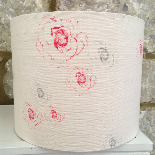 Faded Flora Drum Lampshade - Lolly & Boo - 1