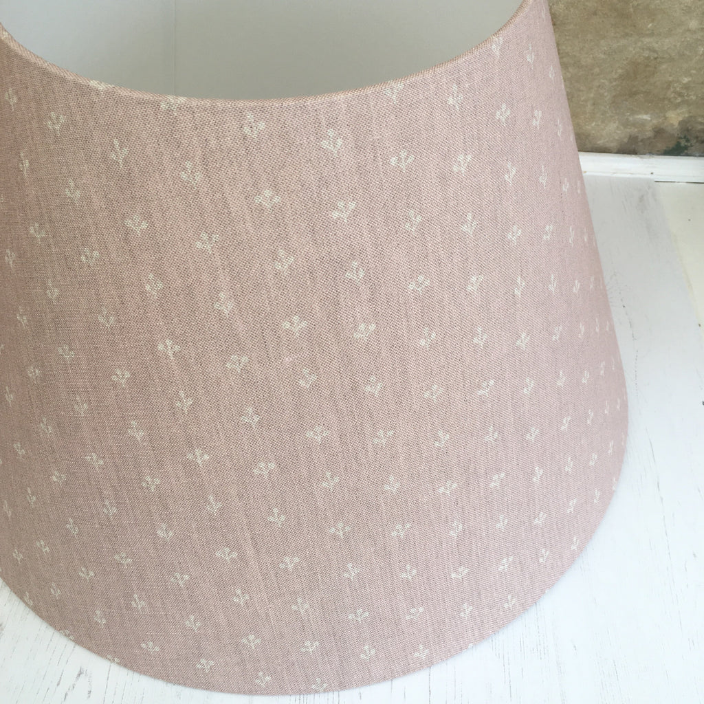 Little Sprigs Linen (faded old silk) Lampshade