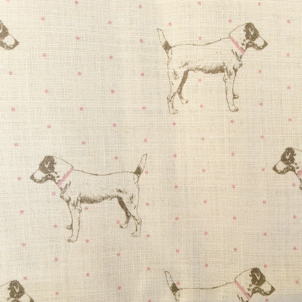 Peony & Sage Jack's Gone Dotty Linen - Offcut (Fat 8th size) - Lolly & Boo - 1