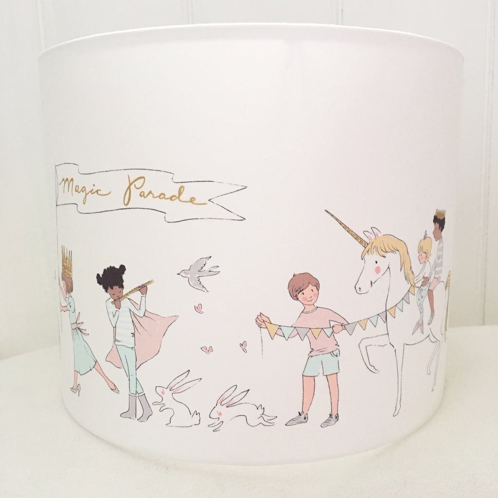 A Magic Parade Drum Lampshade - Lolly & Boo - 1