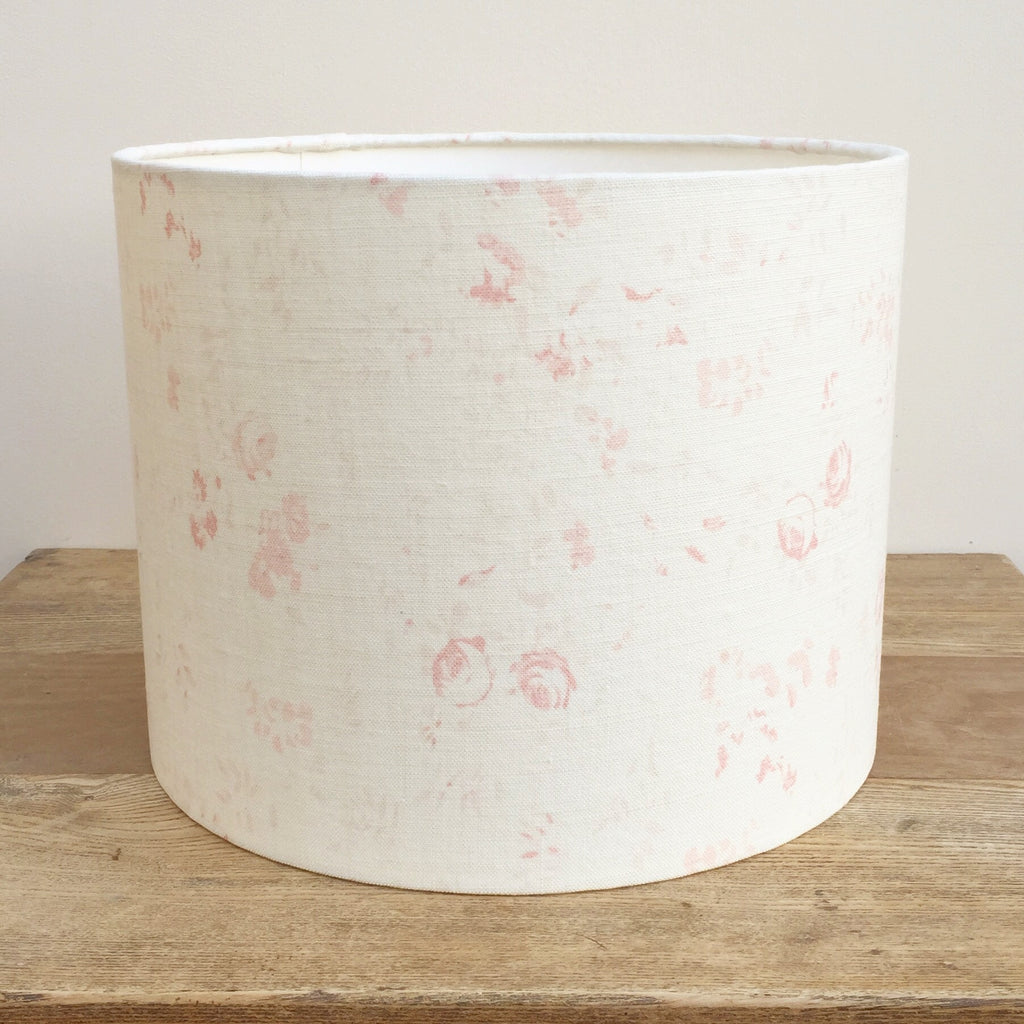 Lydia Linen Drum Lampshade - Lolly & Boo - 1
