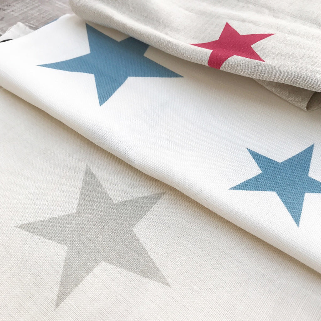 Peony & Sage All Stars Linen - offcuts (choice of colours)