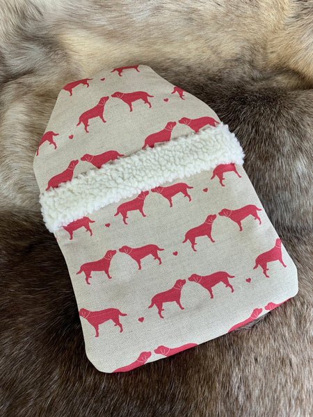 Olive+Daisy Red Hot Water Bottle