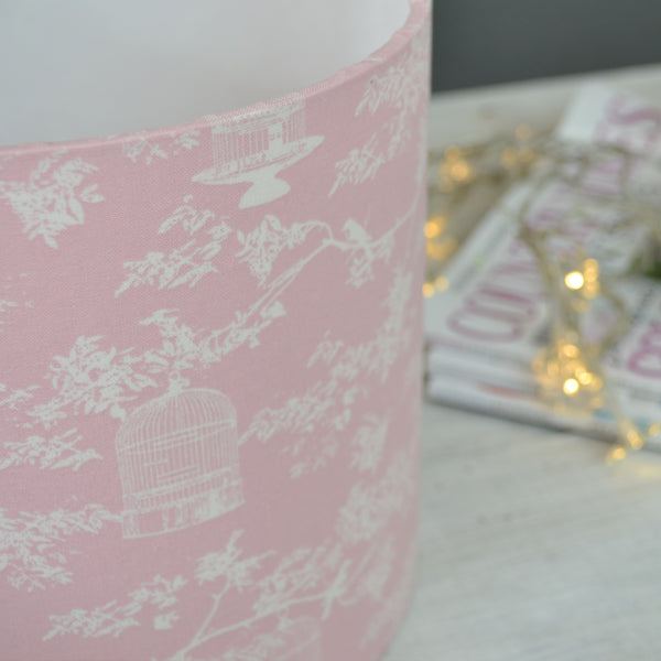 Birdsong Drum Lampshade - Lolly & Boo