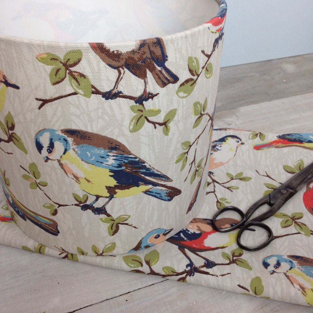 Cath Kidston Garden Birds Drum Lampshade - Lolly & Boo