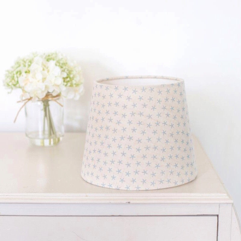 Mini Starfish Linen Lampshade - Lolly & Boo - 1