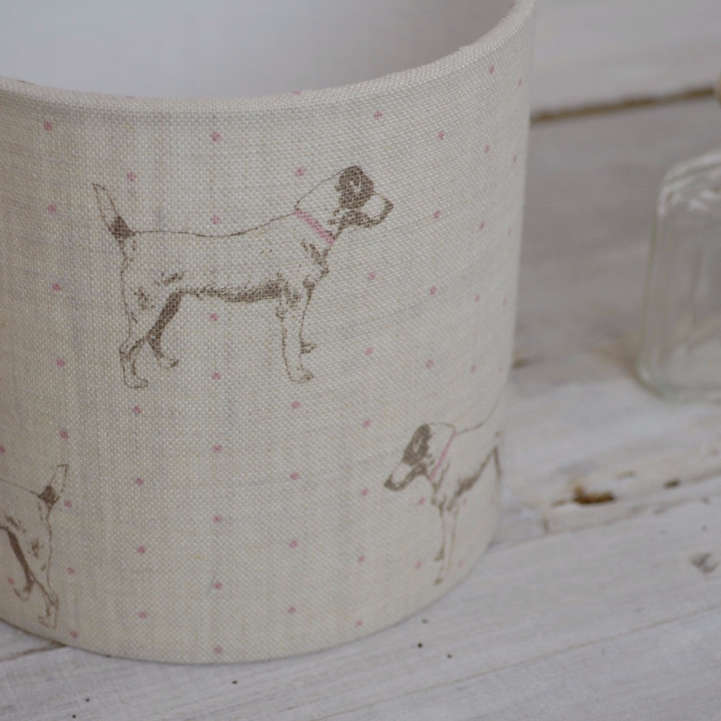 Jack's Gone Dotty Linen Lampshade - Lolly & Boo