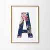 Floral Vintage Letter Print - Lolly & Boo - 1