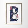 Floral Vintage Letter Print - Lolly & Boo - 2