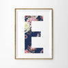 Floral Vintage Letter Print - Lolly & Boo - 4