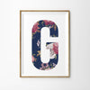 Floral Vintage Letter Print - Lolly & Boo - 5