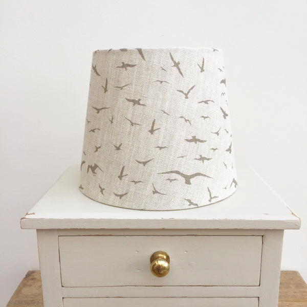 Tea Seagulls Linen Lampshade - Lolly & Boo
