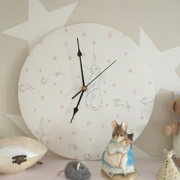 Linen Clock - Lolly & Boo - 1