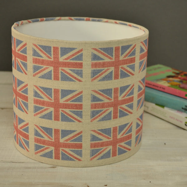 Sarah Hardaker Union Jacks Linen - Offcut - Lolly & Boo