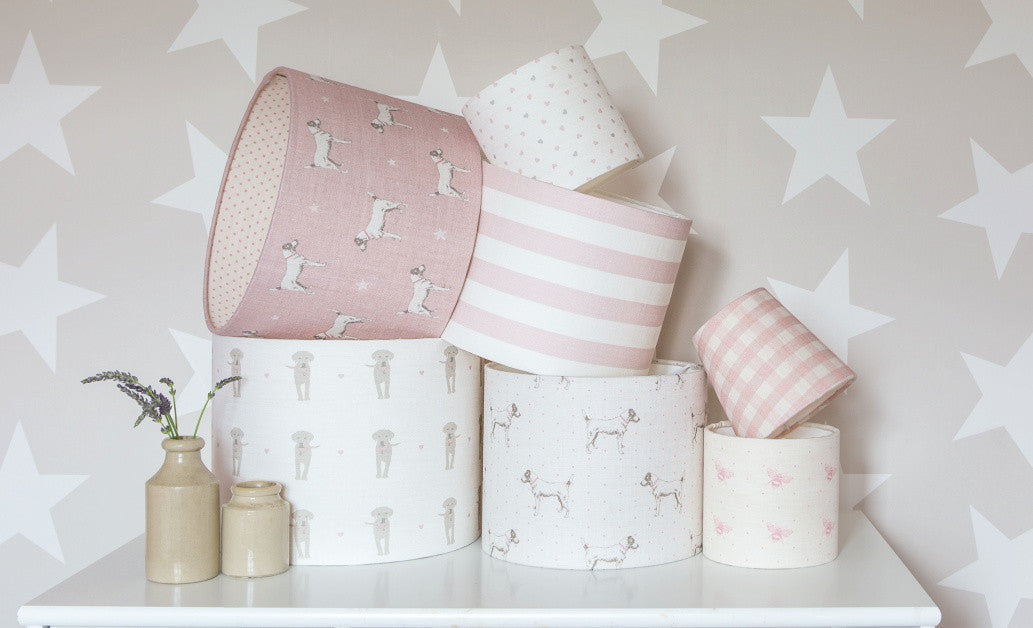 Lampshades for Girls' Rooms