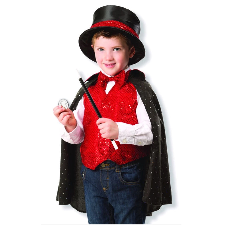 Child Magician Costume For 3-6 Year Olds Deluxe Australia