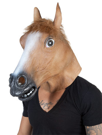 Horse Latex Mask Fancy Dress