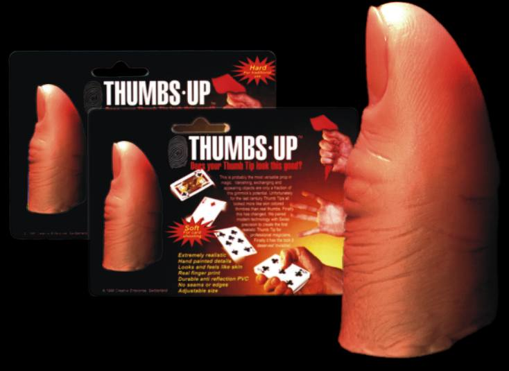 THUMBS UP MAGIC THUMB TIP