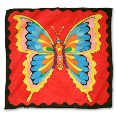 Butterfly Production Hanky 36 inch Magic Shop Adelaide
