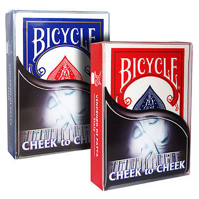 CHEEK TO CHEEK CARD TRICK - BLUE