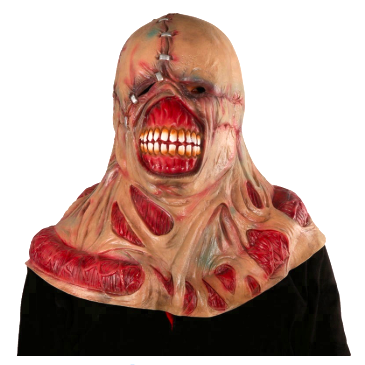 Jigsaw Horror Latex Mask