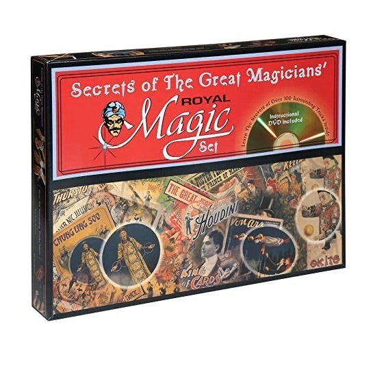 SECRETS OF THE GREAT MAGICIANS | MAGIC SET