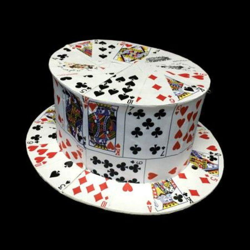 PLAYING CARD TOP HAT