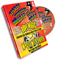 ROPE MAGIC AND PAPER MAGIC - DVD