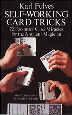 SELF WORKING CARD TRICKS - BOOK