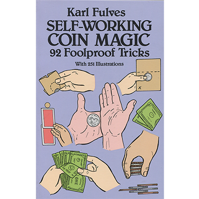 Self Working Coin Magic Tricks Book