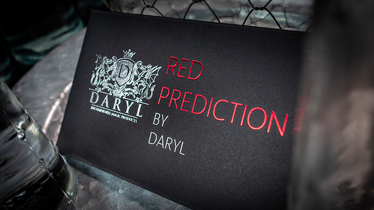 THE RED PREDICTION | BY DARYL | Magic Shop