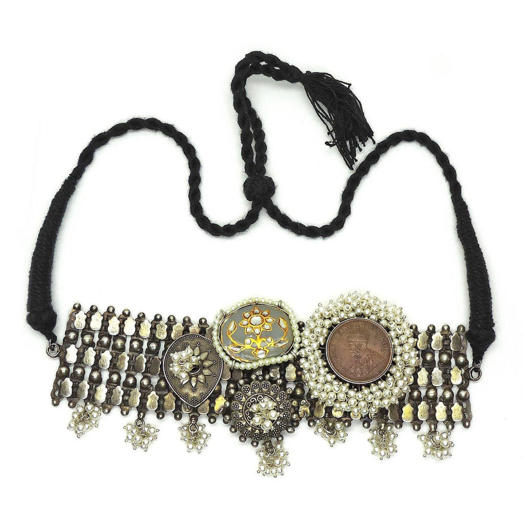 Khilana Choker - Necklaces - Handcrafted Jewellery - Dori