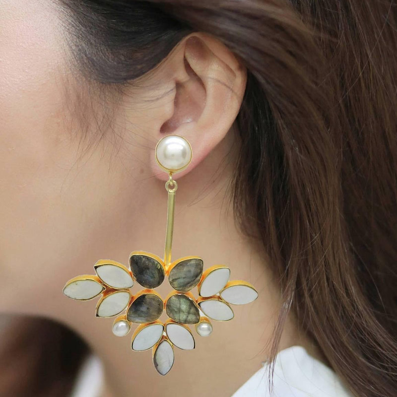 Lydia Earrings | Handcrafted Jewellery | Dori