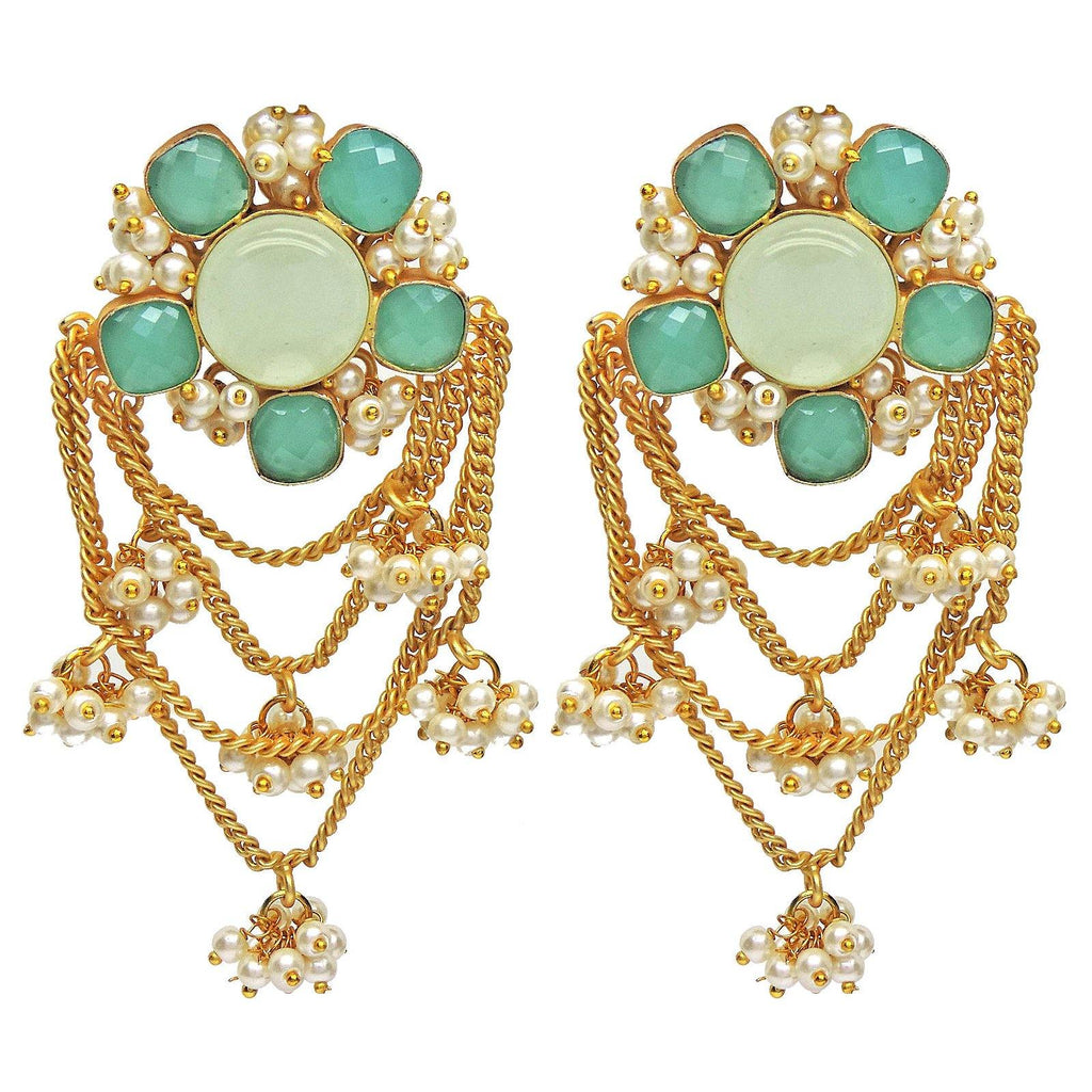 Anthea Chain Earrings - Earrings - Handcrafted Jewellery - Dori