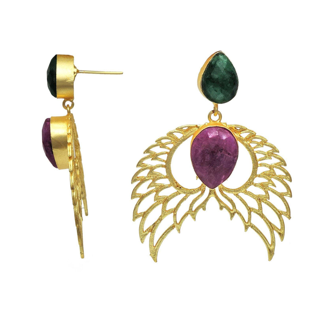 Seraph Earrings | Handcrafted Jewellery | Dori