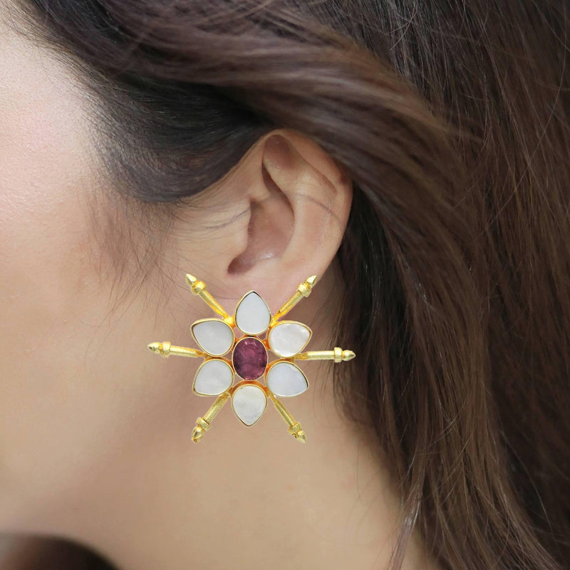 Eros Earrings | Handcrafted Jewellery | Dori