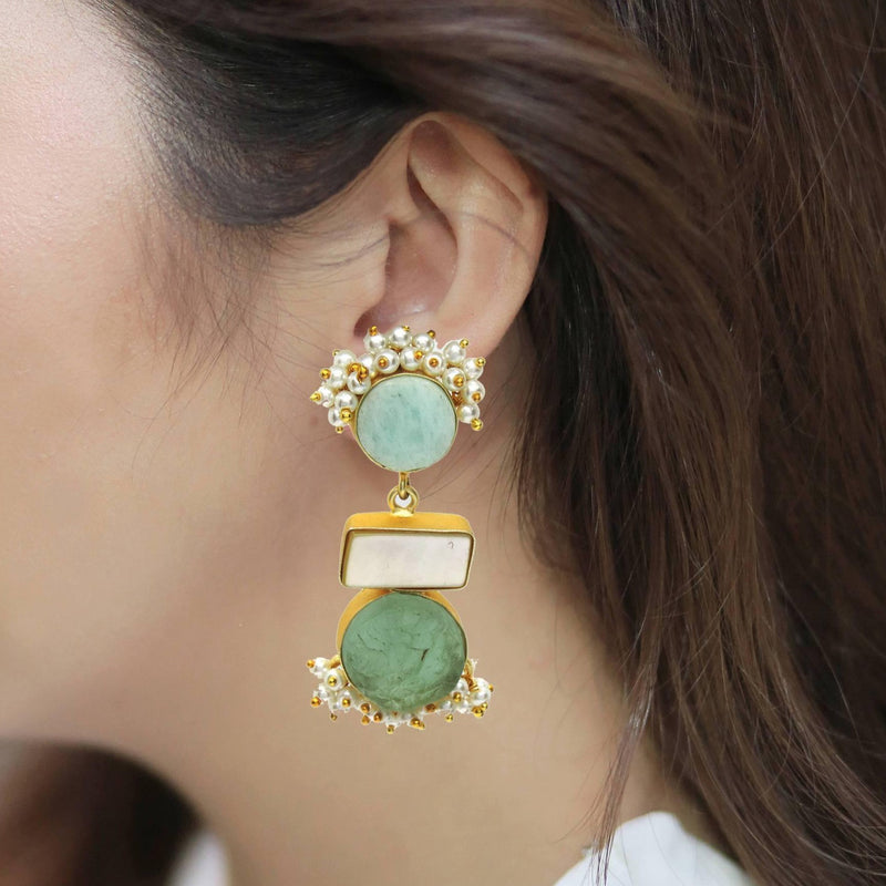 Tetra Forest Earrings | Handcrafted Jewellery | Dori