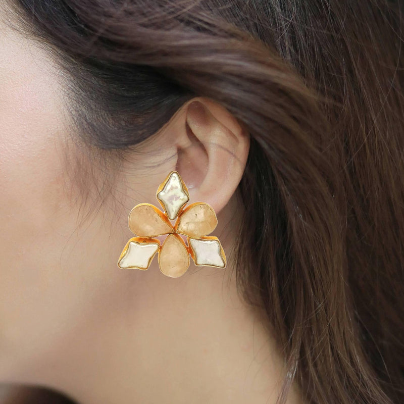 Aster Earrings  | Handcrafted Jewellery | Dori