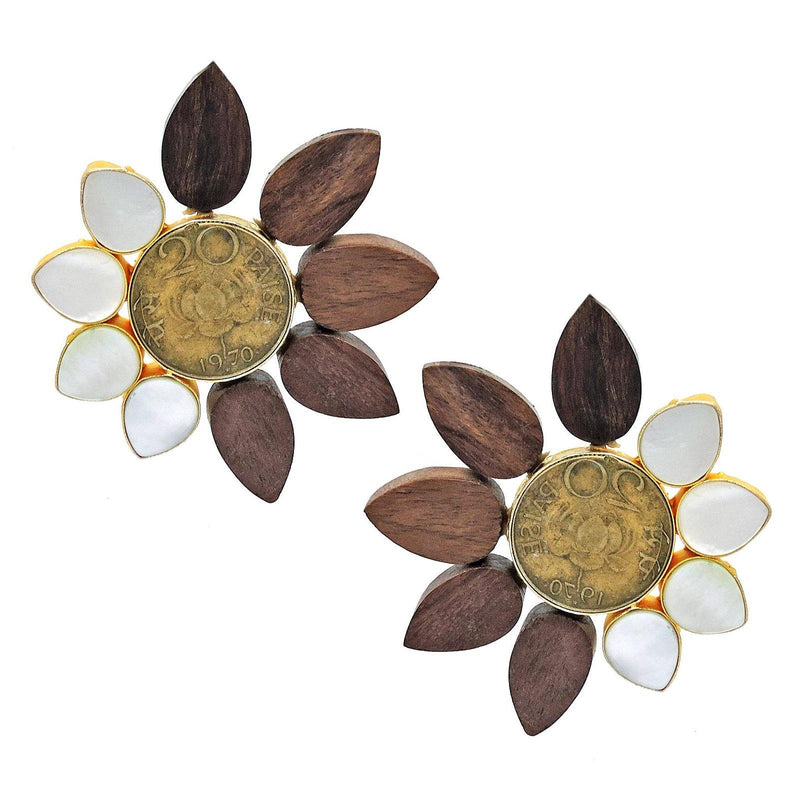 Narra Earrings | Handcrafted Jewellery | Dori