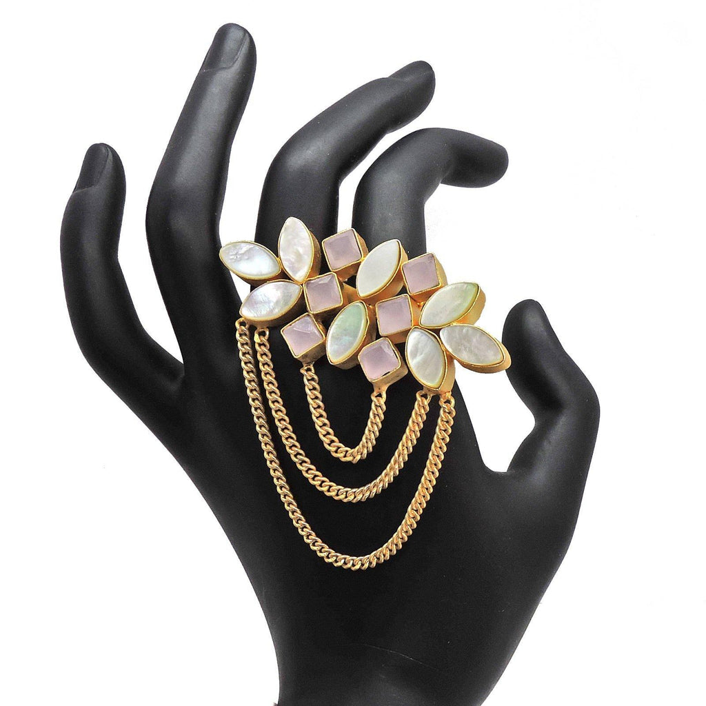 Rose Cluster Ring - Rings - Handcrafted Jewellery - Dori