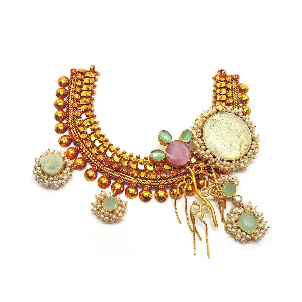 Antique Melody Necklace | Handcrafted Jewellery | Dori