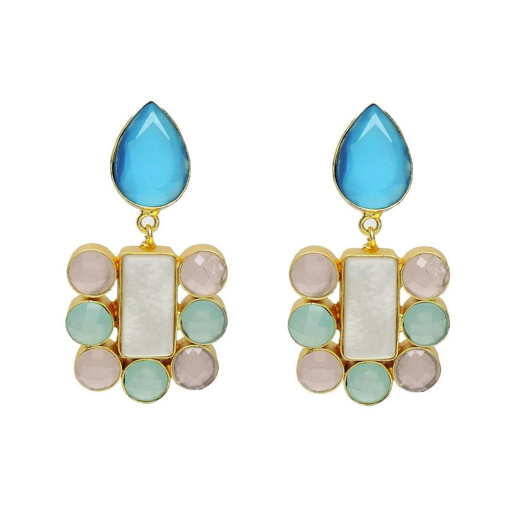 Azure Flame Earrings | Handcrafted Jewellery | Dori