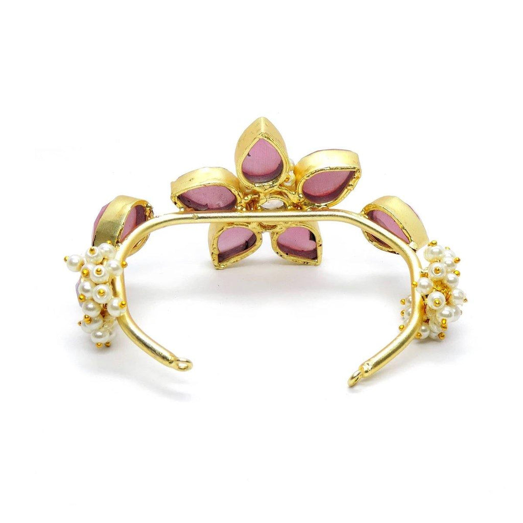 Crystal Flower Cuff | Handcrafted Jewellery | Dori