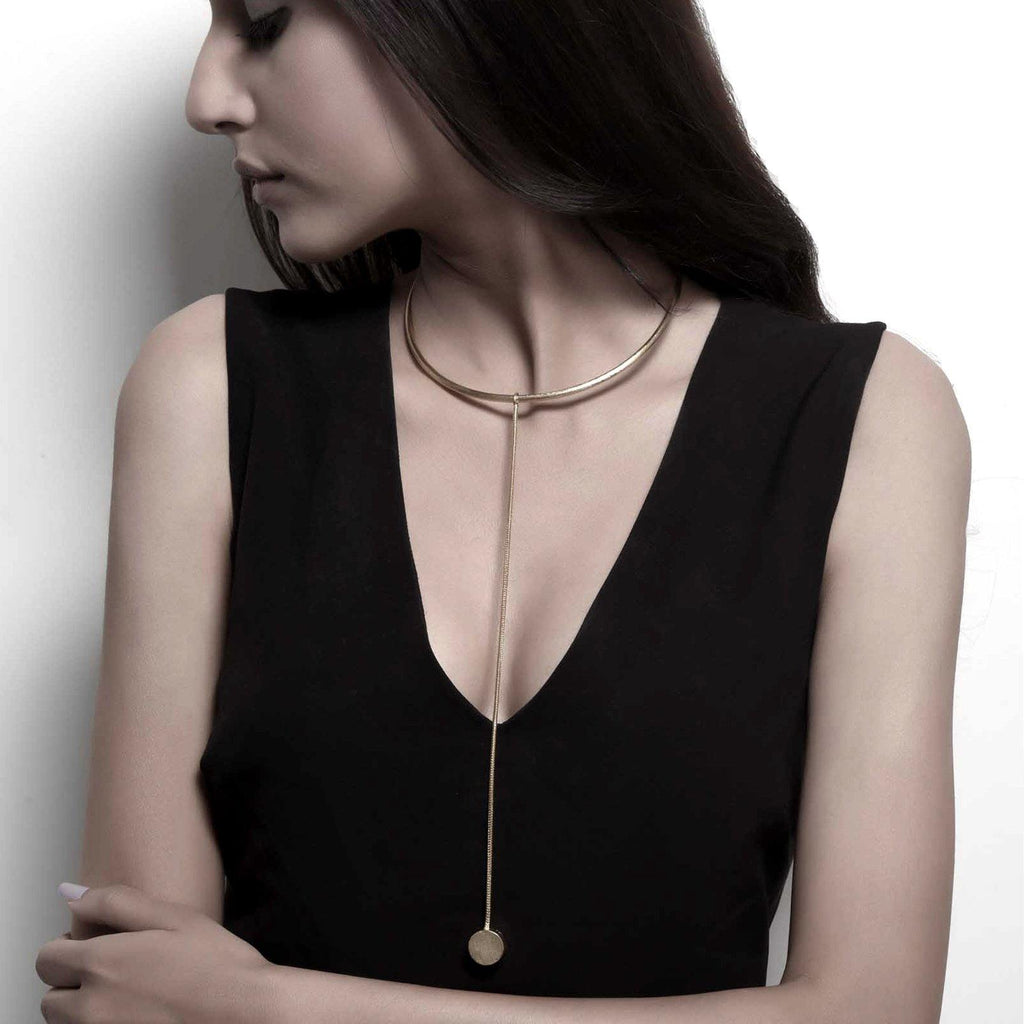 Drop It Necklace | Handcrafted Jewellery | DE'ANMA | Dori