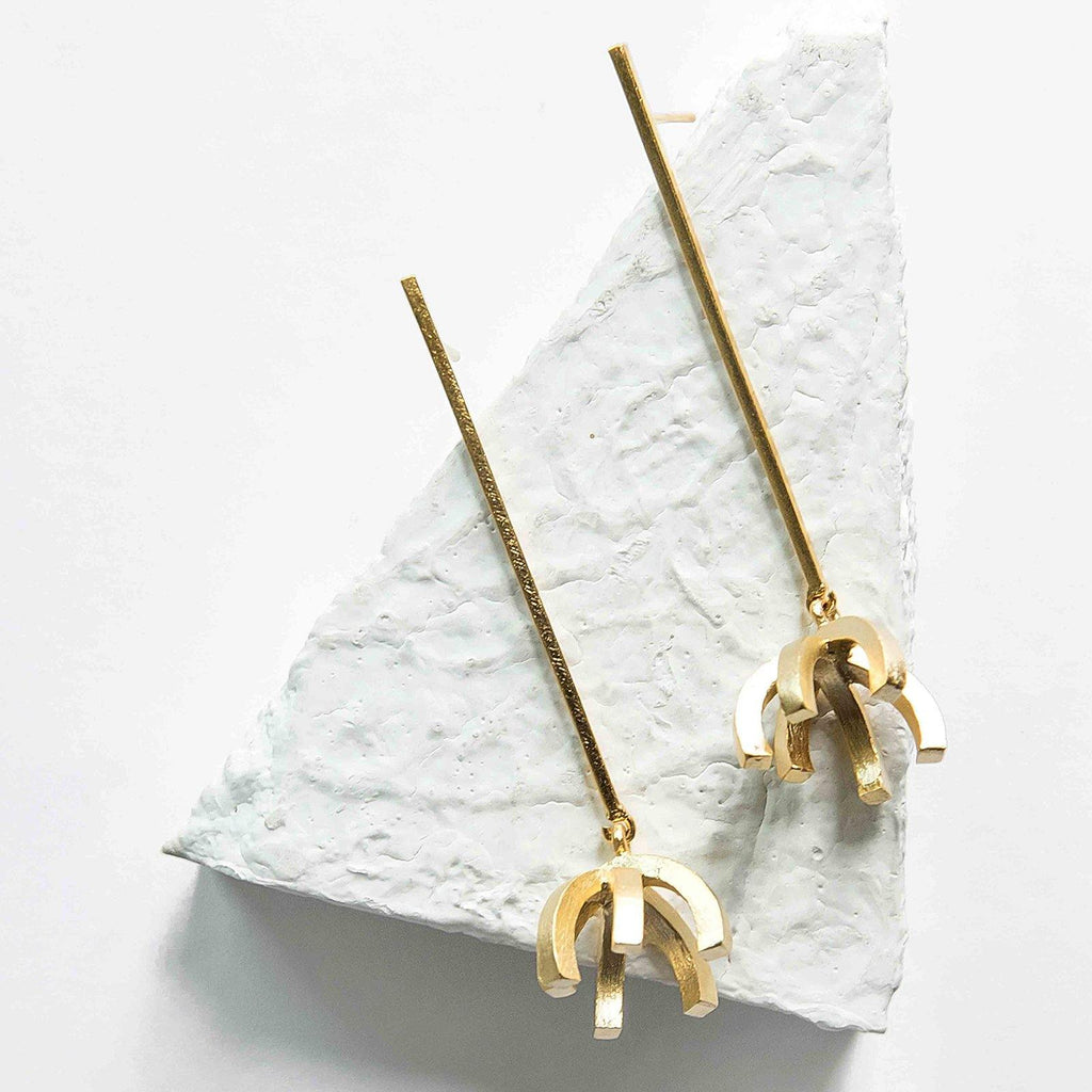 Eulogy Earrings | Handcrafted Jewellery | DE'ANMA | Dori