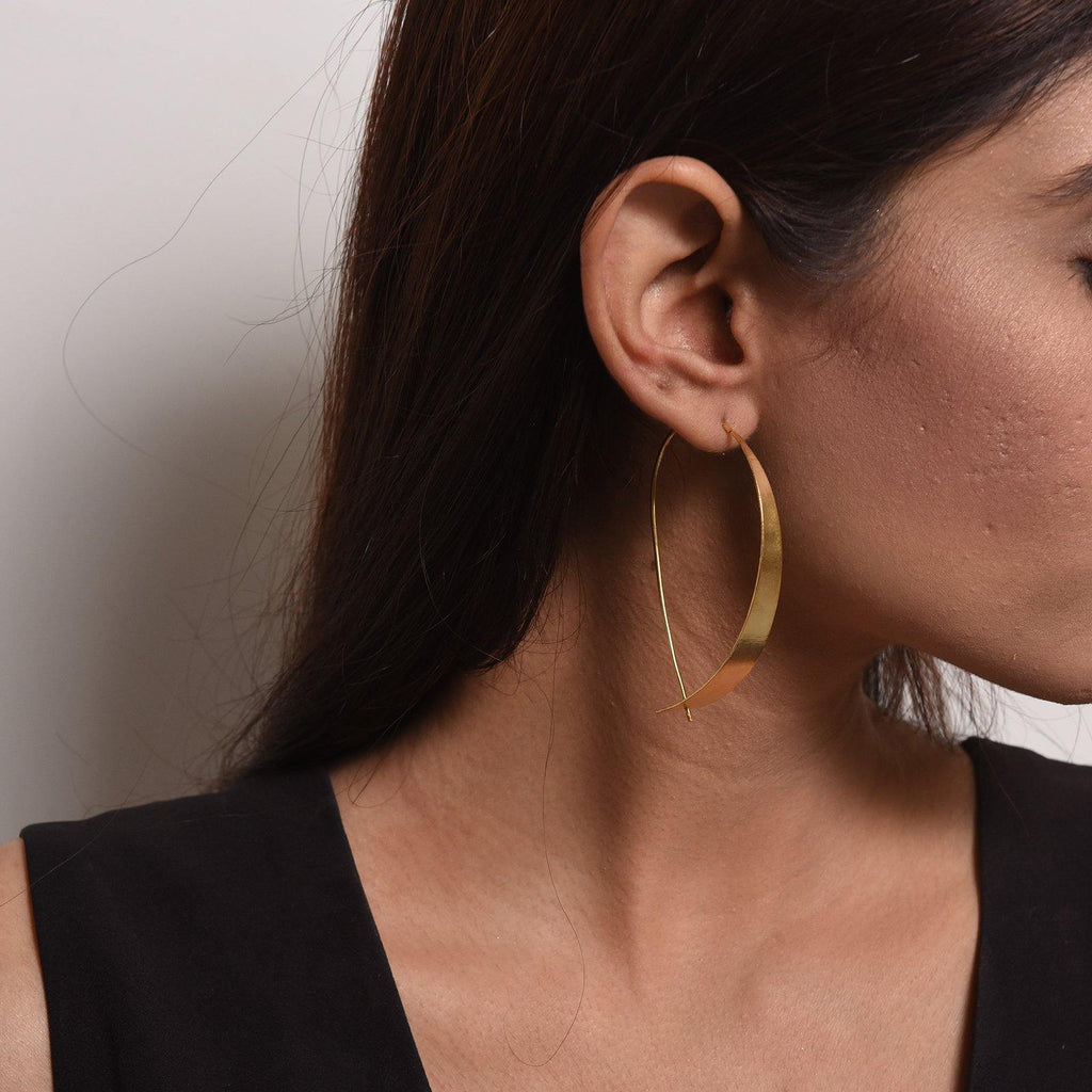 Probe It Earrings | Handcrafted Jewellery | DE'ANMA | Dori